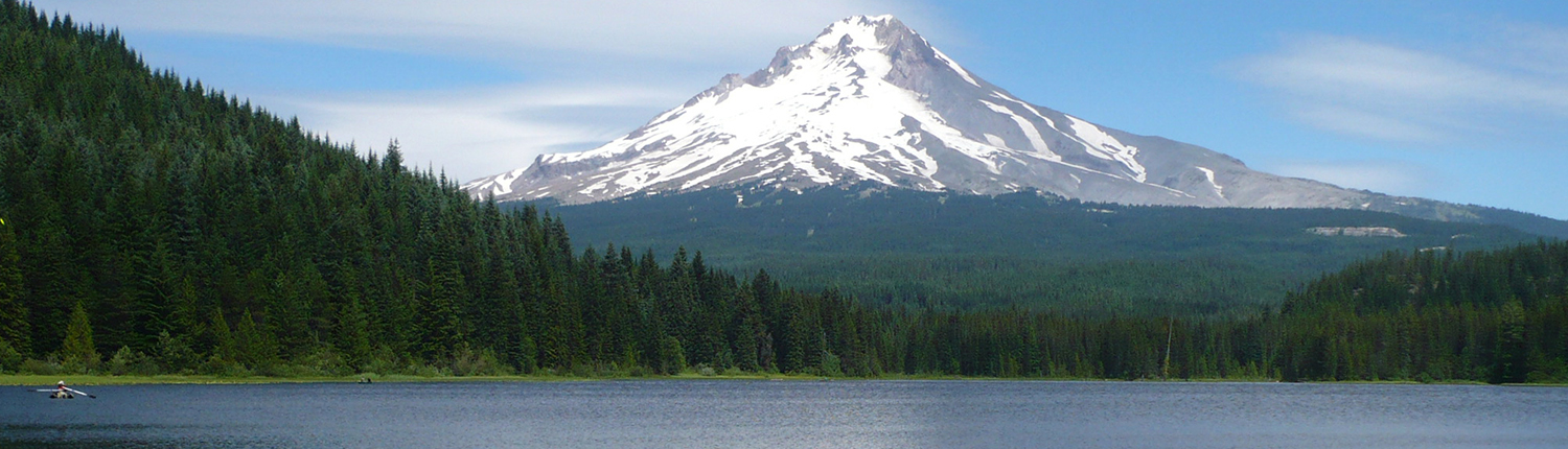 Mt Hood in Oregon